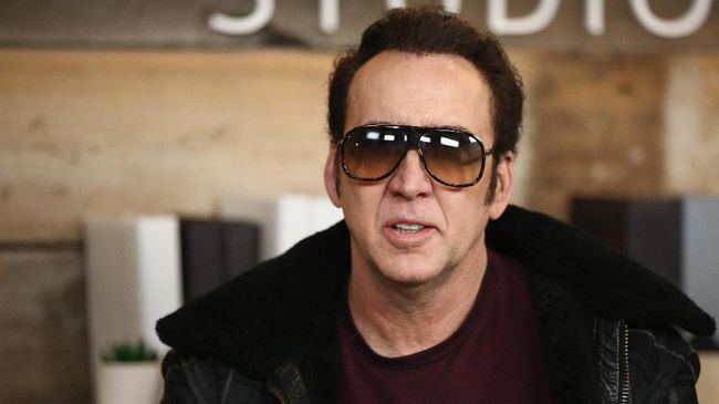 PARK CITY, UT - JANUARY 19: Actor Nicolas Cage attends The IMDb Studio and The IMDb Show on Location at The Sundance Film Festival on January 19, 2018 in Park City, Utah.   Rich Polk/Getty Images for IMDb/AFP