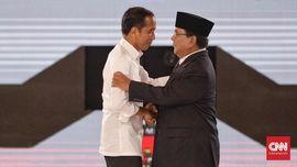 Real Count KPU 65 Persen: Jokowi 56,1, Prabowo 43,8 Persen