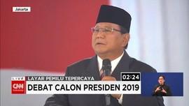 VIDEO: Prabowo Peringatkan Jokowi Soal 'Asal Bapak Senang'