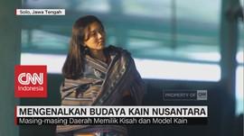 VIDEO: Pameran Kain Nusantara Digelar di Pura Mangkunagaran