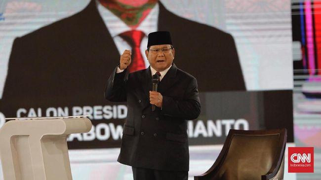 Prabowo menyebut Jokowi mendapat materi yang salah terkait anggaran pertahanan dan keamanan yang menyebabkan pertahanan Indonesia rapuh.