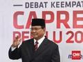 Prabowo: Pertahanan Indonesia Rapuh Kok Kalian Ketawa