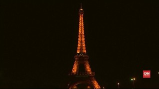 VIDEO: Menara Eiffel Gelap Gulita Peringati Earth Hour