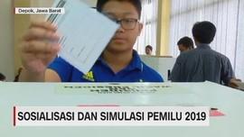 VIDEO: Sosialisasi dan Simulasi Pemilu 2019