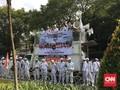 Apel Siaga 313, Massa Tolak Kecurangan Pemilu di Kantor KPU