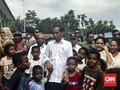 Jokowi Ajak Anak Korban Banjir Sentani Berlibur ke Ancol
