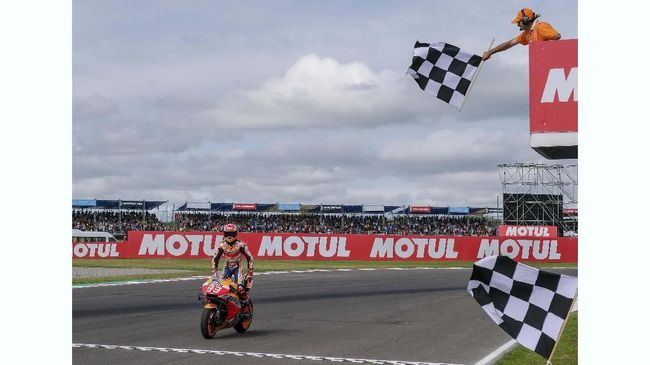 Marc Marquez mengaku tidak terlalu ngotot saat berhasil memenangkan MotoGP Argentina meski ia tampil dominan sepanjang balapan.