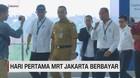 VIDEO: Anies Jajal MRT Hari Pertama Beroperasi