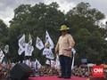 Setop Pidato, Prabowo Tegur Emak-emak yang Asyik Ngobrol