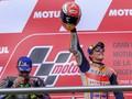 MotoGP Amerika Serikat: Marquez Tak Termakan Jebakan Rossi