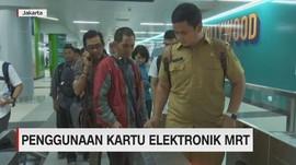 VIDEO: Penggunaan Kartu Elektronik MRT