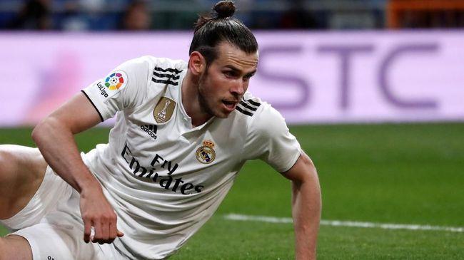Bintang Real Madrid, Gareth Bale, hanya duduk di bangku cadangan saat takluk 0-2 dari Real Betis pada pekan terakhir Liga Spanyol di Stadion Santiago Bernabeu.