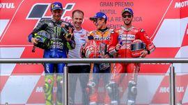 Marquez: Rossi yang Minta Jabat Tangan Saya