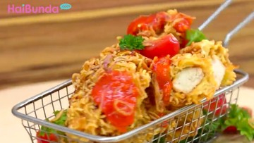 Resep Mie Goreng Chicken Crispy, Camilan Enak dan Bikin Kenyang