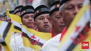 Pangeran Brunei Wafat, Warga Negeri Jiran Berkabung 7 Hari