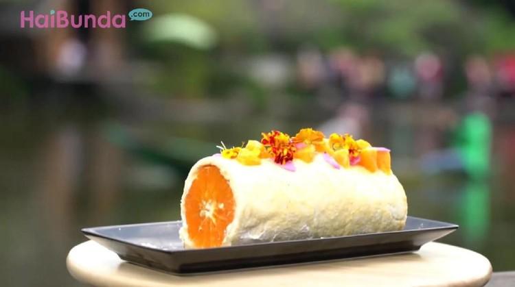 Selain kaya akan vitamin C, Orange Cake yang satu ini bisa bikin Bunda dan si kecil tergiur dengan kelezatannya.