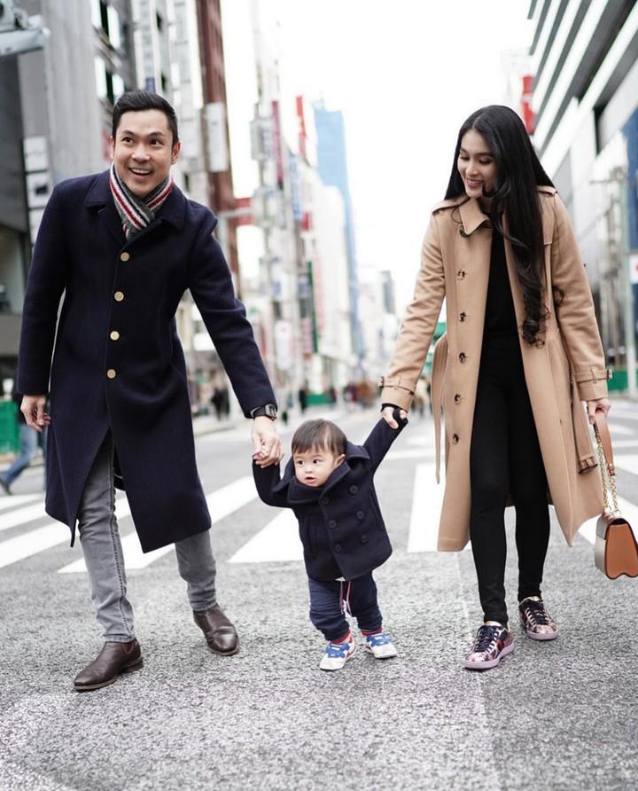 <p>Sandra Dewi menikah dengan seorang pengusaha, Harvey Moeis, pada 8 November 2016. (Foto: Instagram @sandradewi88)</p>