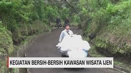 VIDEO: Kegiatan Bersih Bersih Kawah Ijen