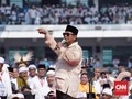 Gaya Prabowo di GBK, Dari Joget Hingga Sapa Wartawan Asing