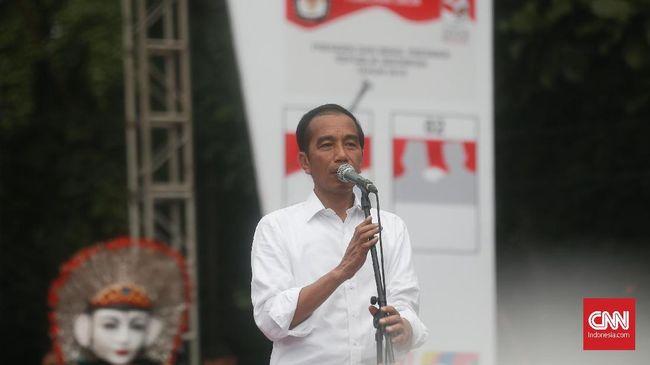 Jokowi meminta Prabowo Subianto tak hanya mengulang pernyataan kebocoran anggaran, tetapi lebih dari itu, bawa bukti dan tunjukkan untuk diperbaiki.
