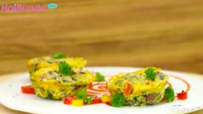 Resep Baked Omelette, Telur Dadar Panggang Gurih & Bergizi