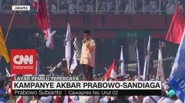 VIDEO: Prabowo Sebut Korupsi di Indonesia Sudah Stadium 4