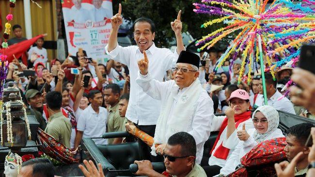 (PANIK) Kubu Jokowi Klaim Bisa Kalahkan Jumlah Massa Prabowo di GBK