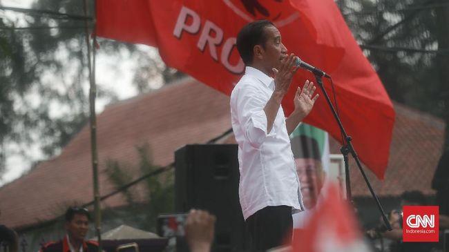 Jokowi mengatakan semua pihak bisa melapor ke KPU, Bawalsu, DKPP jika memang ditemukan kecurangan dalam Pilpres 2019 seperti yang dinarasikan kubu Prabowo.