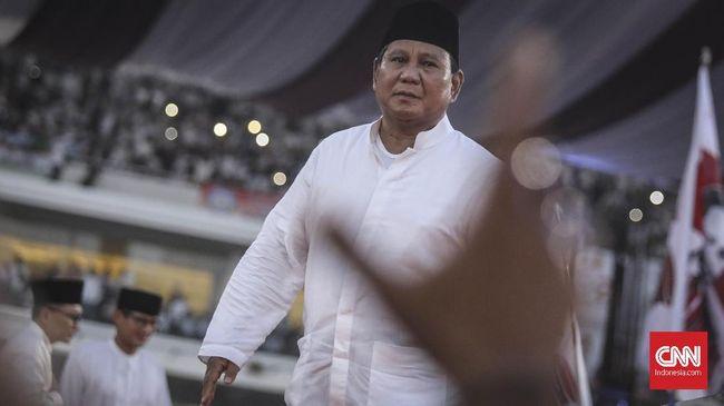 Capres nomor 02 Prabowo Subianto menulis surat kepada penyidik KPK Novel Baswedan terkait dua tahun kasus penyiraman air keras yang hingga kini masih gelap.