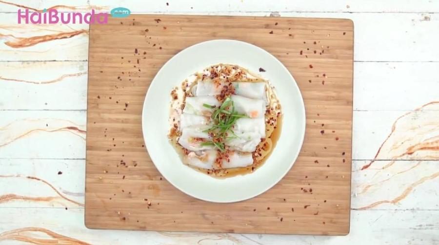 Resep Cheong Fun Shrimp, Mencicip Lembutnya Gulungan Beras Kukus