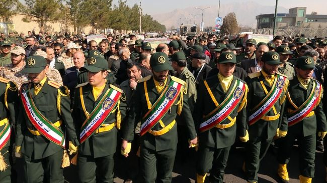 Seorang anggota pasukan Garda Revolusi Iran tewas dalam serangan roket di Aleppo, Suriah.