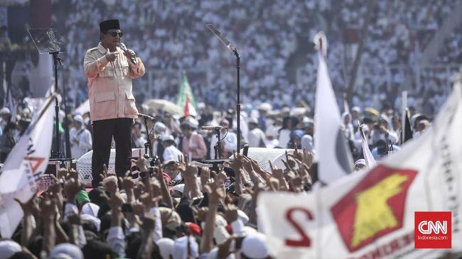 Prabowo Minta Maaf Tak Bekali Amplop untuk Pendukung di Solo