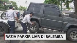 VIDEO: Razia Parkir Liar di Salemba