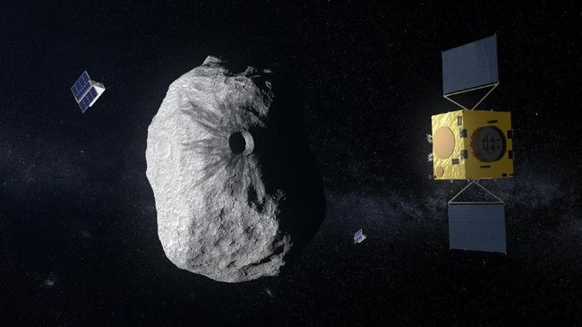 NASA memastikan asteroid yang tengah dekati Bumi palsu, ternyata itu adalah roket tua yang meluncur pada 1966.