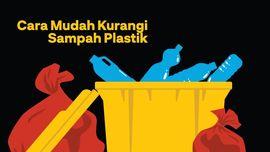 INFOGRAFIS: Cara Mudah Kurangi Sampah Plastik