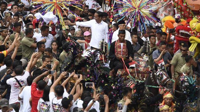 Kereta Kencana Jokowi-Ma'ruf Kendaraan Khas Indonesia