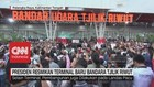 VIDEO: Jokowi Resmikan Terminal Baru di Bandara Tjilik Riwut