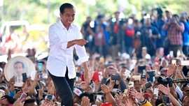 Seminggu Jelang Pencoblosan, Jokowi Sebut Hoaks Masih Dipakai
