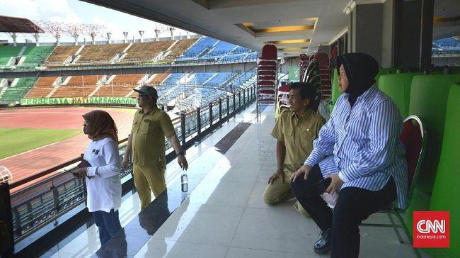 Wali Kota Surabaya Tri Rismaharini berharap Surabaya menjadi venue utama Piala Dunia U-20 2021.