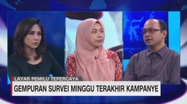 VIDEO: Gempuran Survei Minggu Terakhir Kampanye (3/3)