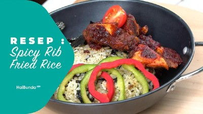 Resep Spicy Rib Fried Rice