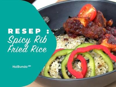 Resep Spicy Rib Fried Rice