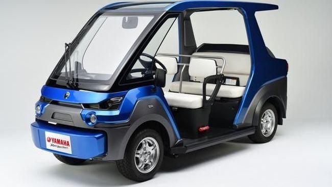 Yamaha Rancang Mobil Fuel Cell