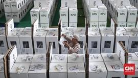 FOTO: Persiapan Terakhir Distribusi Logistik Pemilu 2019