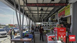 Curhat Pedagang di Rest Area Kena Dampak Larangan Mudik