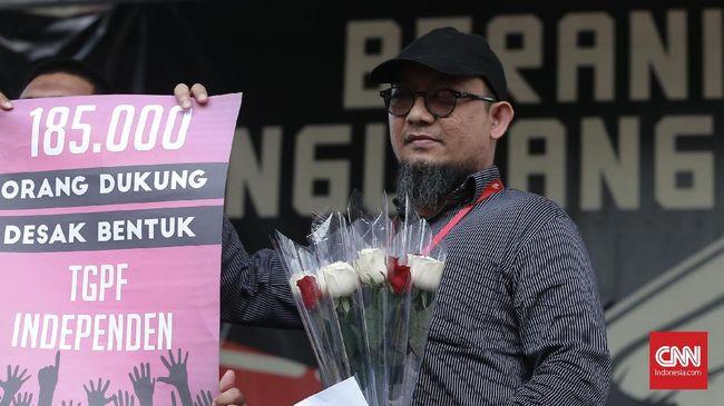 Penyidik senior Komisi Pemberantasan Korupsi (KPK) Novel Baswedan mempertanyakan sikap Presiden Joko Widodo soal RUU KPK.