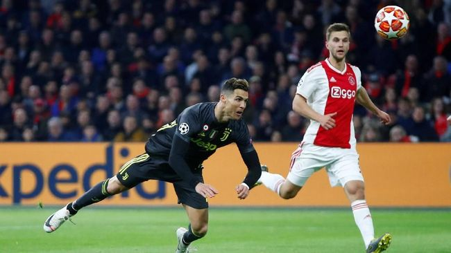 Prediksi leg kedua perempat final Liga Champions 2018/2019 antara Juventus vs Ajax Amsterdam di Stadion Allianz, Rabu (17/4) dini hari WIB.