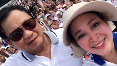 6 Momen Titiek Soeharto Setia Dampingi Prabowo Saat Kampanye