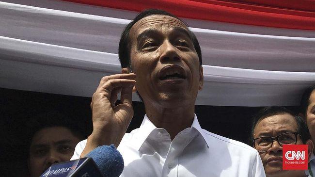 Prabowo Subianto menyatakan akan menolak hasil penghitungan suara jika terbukti curang. Jokowi menanggapi, semua mekanisme sudah diatur dalam konstitusi.