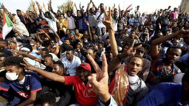 FOTO: Lingkaran Setan Kudeta di Sudan